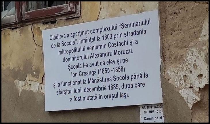 """Cultura pe timpuri de pandemie: semnal de alarmă legat de """"casa Creangă"""" de la Socola"""