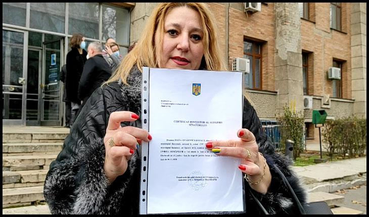 (VIDEO) Iașul are un nou senator: Diana Iovanovici-Șoșoacă și-a ridicat certificatul de senator de Iasi, Foto: © Glasul.info