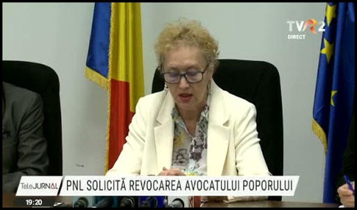 """Avocatul Poporului: """"România este singura țară din UE în care au fost luate cele mai drastice măsuri în sensul restrângerii unor drepturi și libertăți"""", Foto: TVR 2"""