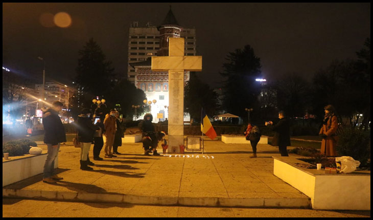 Acțiune de conștientizare a faptului că Iașul este orașul declanșator al evenimentelor din decembrie 1989