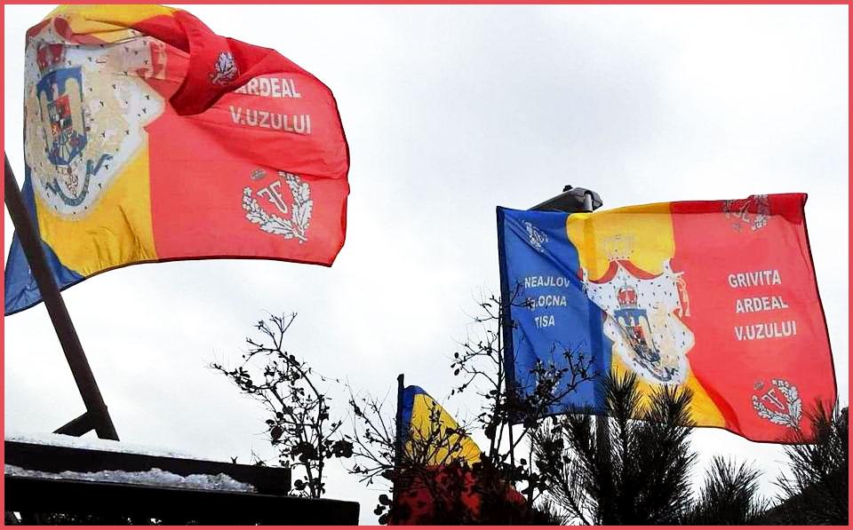Steagurile Triumfătoare ale Regimentului 15 Infanterie prind din nou viață!, Foto: Facebook / Mihai Tîrnoveanu