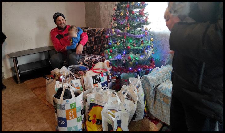 Acțiune caritabilă de Crăciun pentru copiii din Voinești
