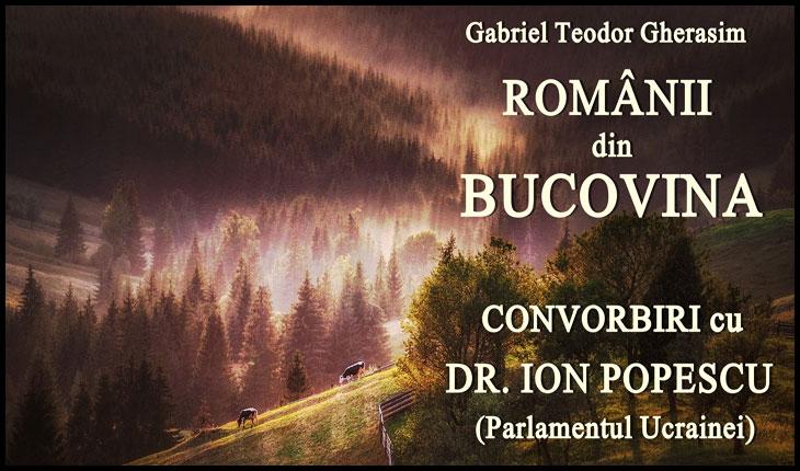 """Apariție editorială, o """"audiocarte"""": """"Românii din Bucovina"""""""