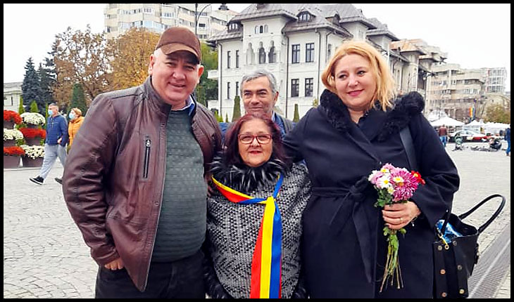 """Iașiul se ridică din nou la luptă prin vocea unui avocat: """"Masca te poate expune unui risc crescut de infecții"""", Foto: Facebook / Elena Vukic"""