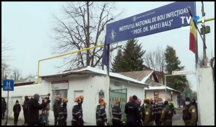 AUR cere demisia de urgență a celor responsabili de tragedia de la Institutul Matei Balș, Foto: TVR