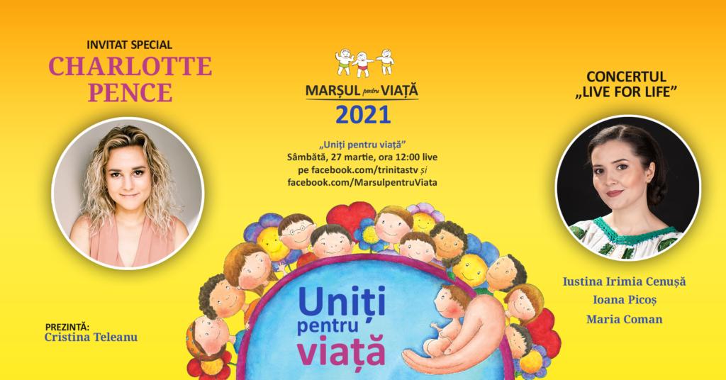 Fiica lui Mike Pence, fostul vicepreședinte al SUA, la Marșul pentru viață 2021 din România!