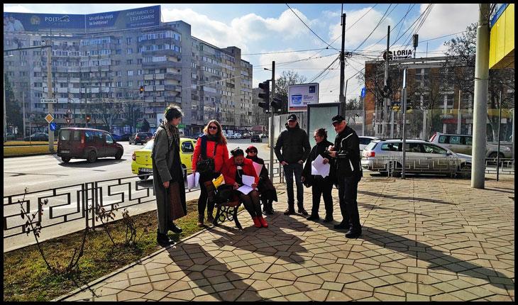 A doua zi la rând în care ieșenii demonstrează o forță civică foarte consistentă, petiționând partidele parlamentare