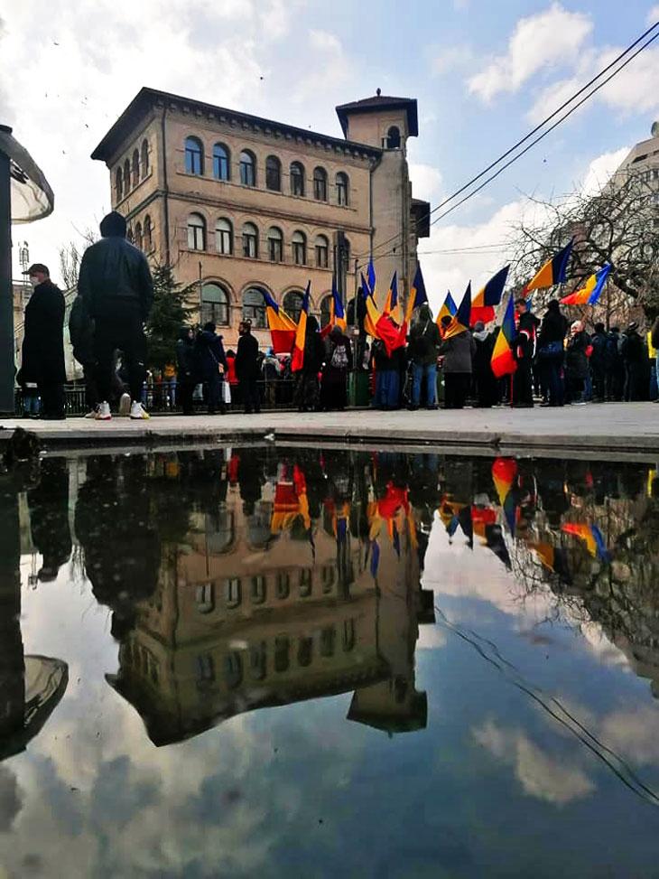 """Opinia unei jurnaliste debutante despre proteste: """"Adevărul este ca unii dintre cei ce se consideră lideri și vorbesc mulțimii, sunt și ei de aceeași baricada cu cei de la putere"""", Foto: © Marija Vasilescu"""