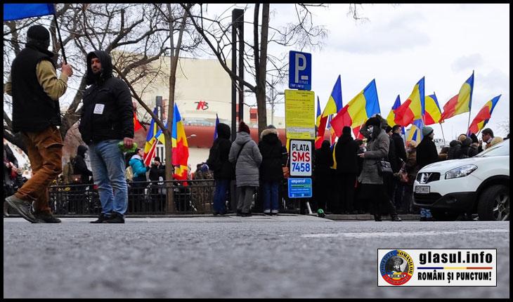 Proteste dezbinate la București