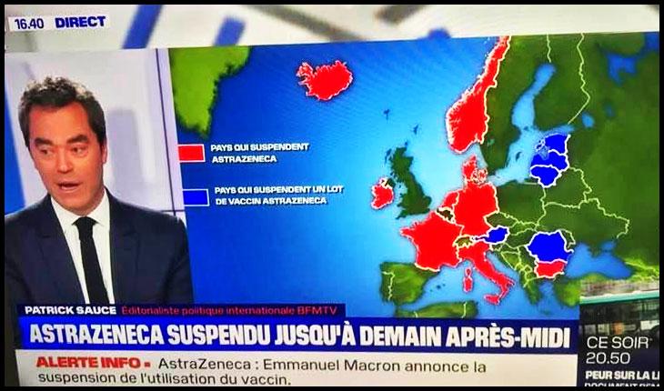 Doar România nu catadicseşte în Estul Europei să-și apere cetățenii de AstraZeneca? Până și Bulgaria a stopat vaccinarea!