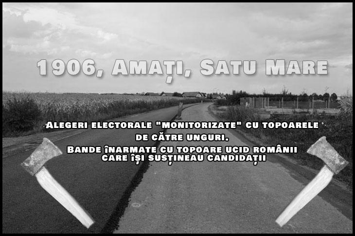 """27 Aprilie 1906: Alegeri electorale """"monitorizate"""" cu topoarele de către unguri. Bande înarmate cu topoare ucid românii care își susțineau candidatul"""