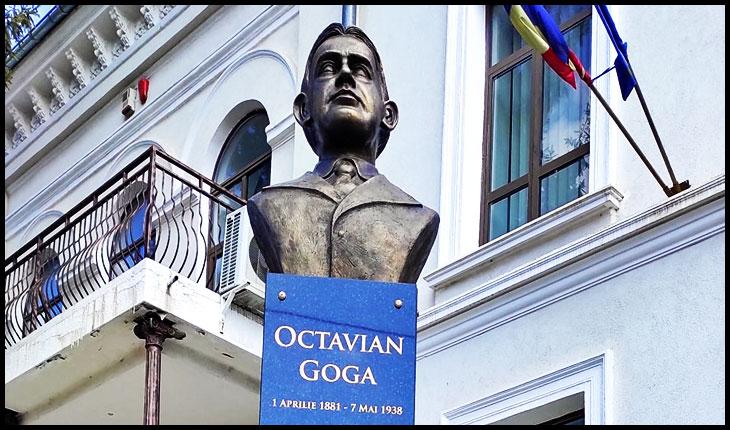 """Ce-ai făcut Bobiță? Primarul Iașului, Mihai Chirica, acuzat că a dezvelit bustul unui """"antisemit""""?, Foto: © Glasul.info"""