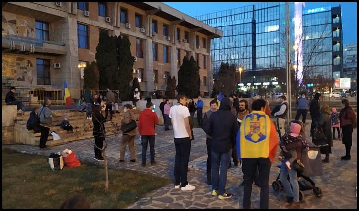 Zile consecutive de proteste antirestricții și la IAȘI!