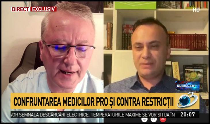 După Flavia Groșan, sistemul mafiot îl atacă și pe doctorul ieșean Răzvan Constantinescu, Foto: Antena 3