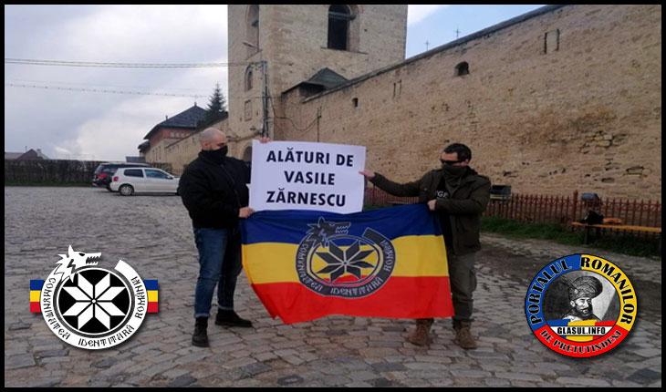 Comunitatea Identitară Iași, solidară cu Vasile Zărnescu
