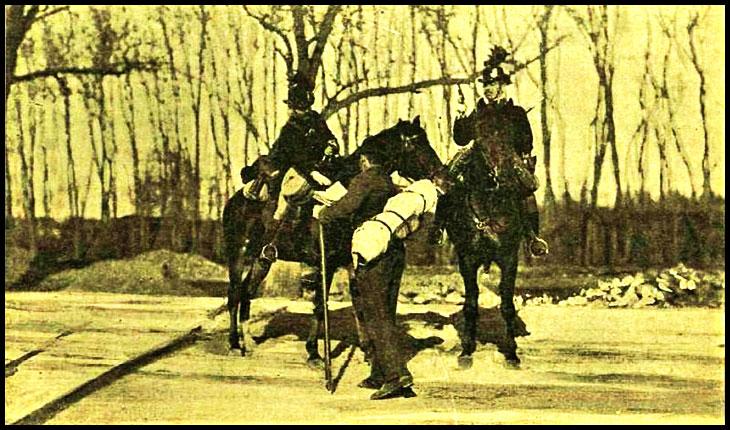 29 Aprilie 1906, Corni-Sălaj: Jandarmi maghiari, în stare de ebrietate, deschid foc asupra votanţilor români care se încolonaseră să meargă la Şomcuta-Mare pentru a-l vota pe dr. Al. Vaida Voievod