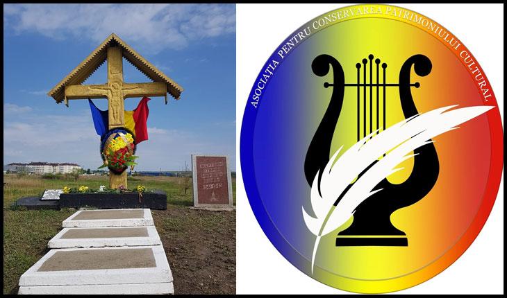 Asociația pentru Conservarea Patrimoniului Cultural a comemorat victimele ucise în lagărul militar Nr.33 instalat în Bălți de structurile NKVD-iste ale Armatei Roșii, Foto: facebook.com/AO-Asociația-pentru-Conservarea-Patrimoniului-Cultural-100925031511291/