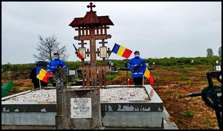 7 Mai 2021: Au avut loc comemorări ale eroilor români la Ardud, Mădăras și Gerăușa