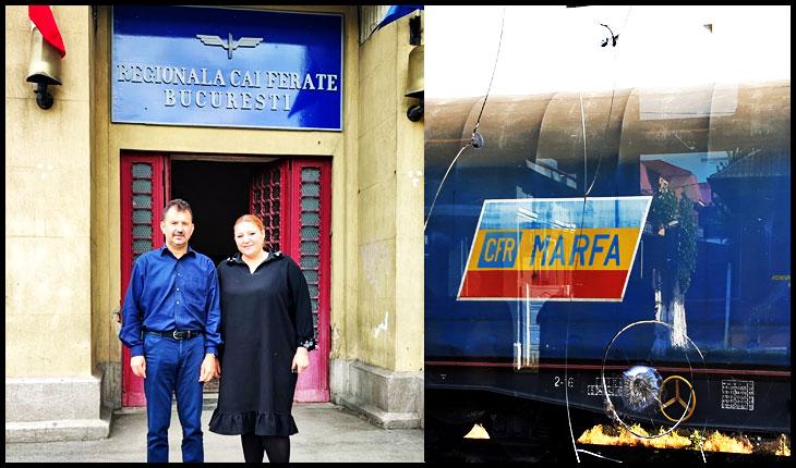 Întâlnire între senatoarea Diana Iovanovici Șoșoacă și Marian Epure, pentru a identifica soluții de redresare a CFR Marfă