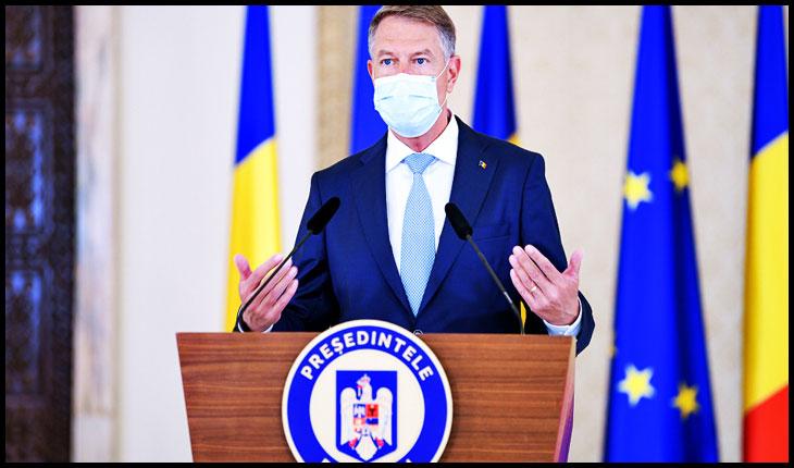 Cu mufa pe față, Wernerul anunță că de la 15 mai se renunță la masca în aer liber și la alte restricții: românilor li se lasă lanțul mai lung, Foto: presidency.ro