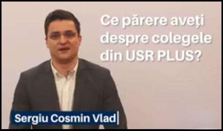 """""""Ești mai rău ca o femeie și ne faci Aradul de râs!""""- Arădenii, rușinați de faptul că sunt reprezentați de USR-istul Sergiu Cosmin Vlad, Foto: captură video facebook"""