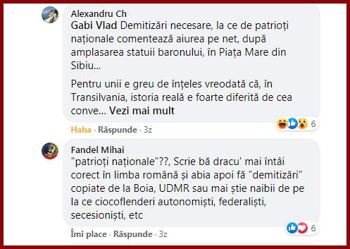 Directorul de marketing al Muzeului Brukenthal, Alexandru Chituță, sare în sprijinul Boromir