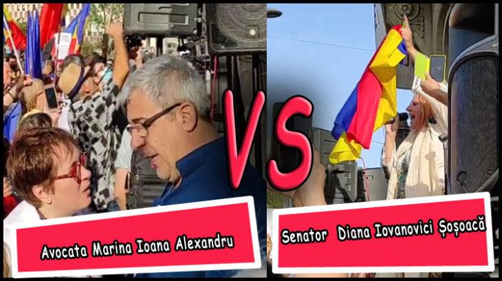 (VIDEO) Senatorul Diana Iovanovici-Șoșoacă, sursă de inspirație pentru avocați
